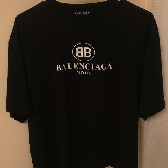 01a237b9 Balenciaga Other - BB Balenciaga Mode T-shirt